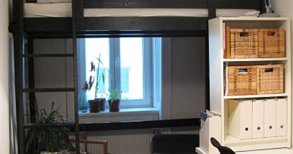 stora hochbett schwarz einrichtungen pinterest ich liebe dich puppen und ideen. Black Bedroom Furniture Sets. Home Design Ideas