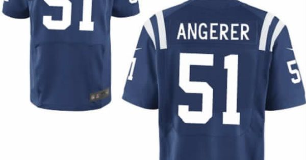 c7a05d5e1 ... men pat angerer jersey nike indianapolis colts blue 51 elite nfl jersey  sale nfl pinterest nike