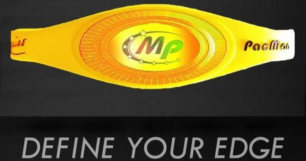 DEFINE YOUR EDGE | Manny Pacquiao Energy Bracelet | Pinterest