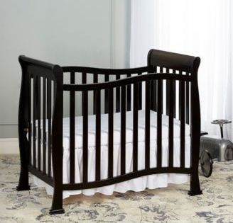 Dream On Me Piper 4 In 1 Mini Crib Tan Beige Mini Crib Cribs Baby Cribs