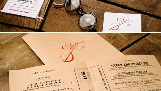 25 Best Ideas About Drink Menu On Pinterest: 25 Inspiring Restaurant Menu Designs (Wooden Back Drink