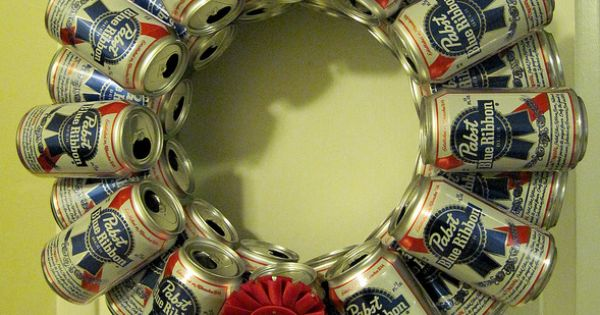 matt's xmas ,bday,etc. cool for mancave gift Pabst Blue Ribbon beer can