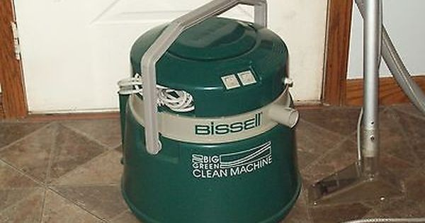 Bissell Big Green Clean Machine Steamer Carpet Cleaner Steame R Bissell Big Green How To Clean Carpet Carpet Cleaning Company