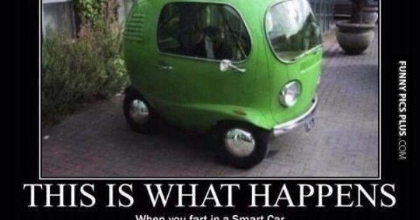 fart in a smart car humor pinterest smart car and cars. Black Bedroom Furniture Sets. Home Design Ideas
