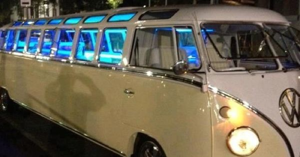 Have you ever seen a Volkswagen Bus Limo? UH can you say