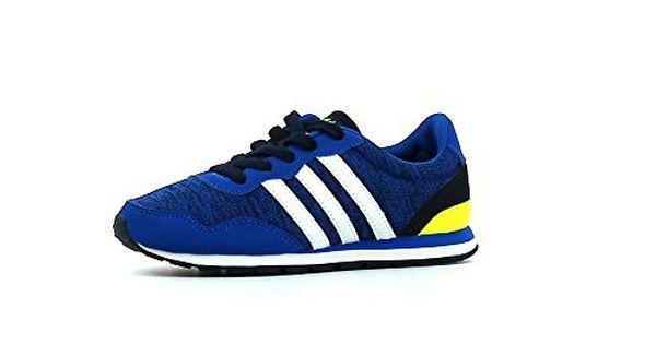 new concept c4df2 997d9 ... adidas NEO Kinder Sneaker V Jog K BlueFtwr WhiteCollegiate Navy 28 ...