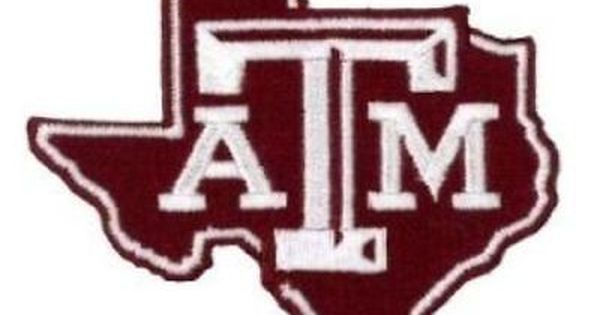 Texas A M University Aggies Vintage Embroidered Iron On Patch 3 X