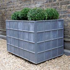 The Estate Lead Garden Planter Large Large Garden Planters