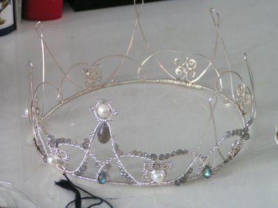 How To Make A Wire Crown Diy Wire Jewelry Wire Crown Fairy Crown