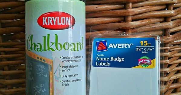 How To Make Chalkboard Labels-we could save money on diy wedding chalkboard