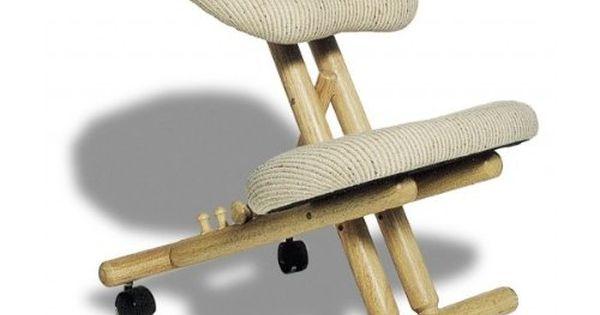 Chaise ergonomique professionnelle id ale pour ceux qui for Chaise ergonomique genoux