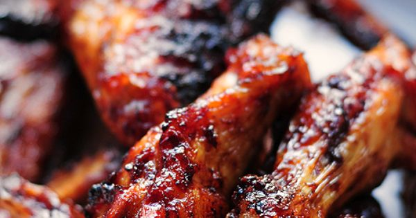 Sweet & Spicy Grilled Chicken Wings | She Wears Many Hats. Previous