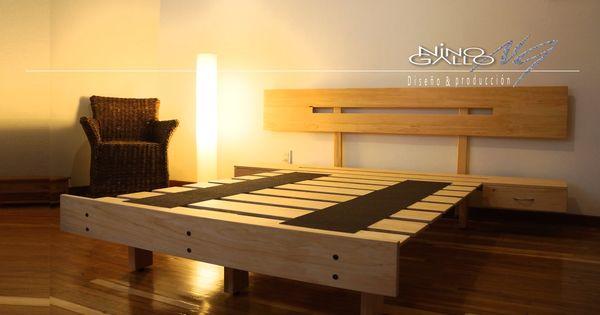 Camas nino gallo bases para cama bases de madera bases - Bases para cama ...