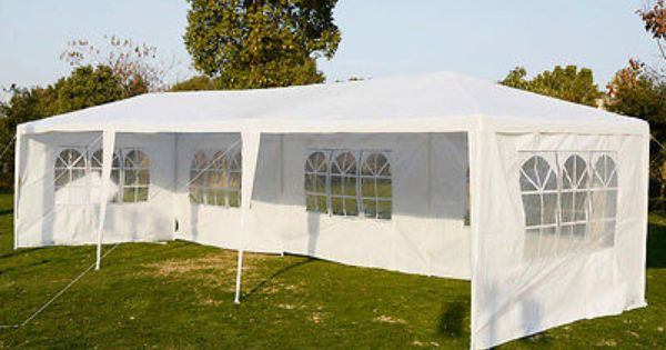 10 X30 Outdoor Canopy Party Wedding Tent Heavy Duty Gazebo Pavilion Cater Events Canopy Outdoor Gazebo Patio Tents