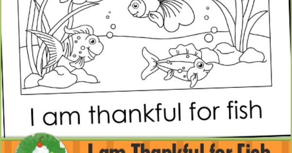 Church coloring pages i am thankful for fish for What kind of fish am i