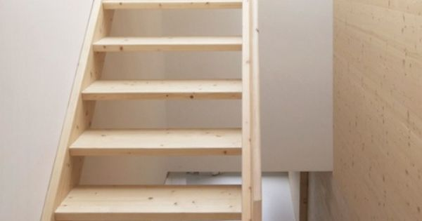 Simpele houten trap interior grachtenpand canal house pinterest houten trap zolder en - Houten trap interieur ...