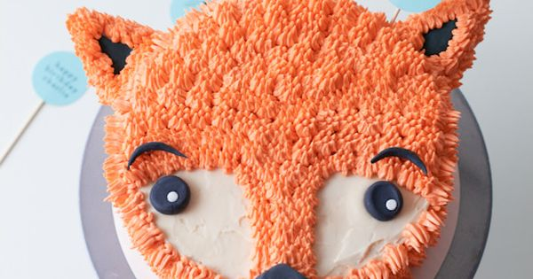 How to make a Furry Fox cake from Handmade Charlotte - DIY