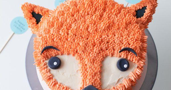 How to make a Furry Fox cake from Handmade Charlotte - DIY