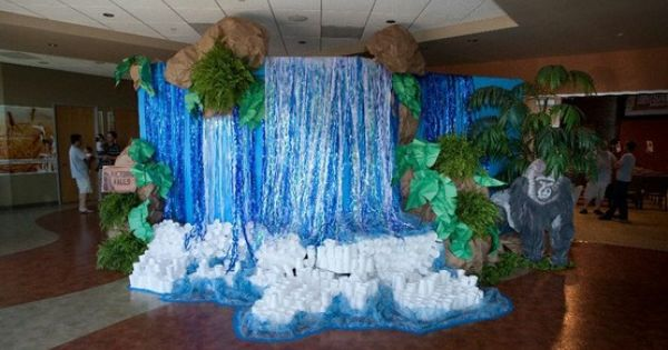 Classroom Waterfall Ideas ~ The given life how to make a giant waterfall might need