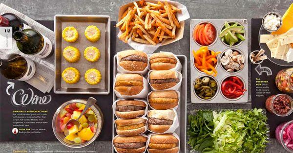 burger party  slider party  hamburger feest  burger party