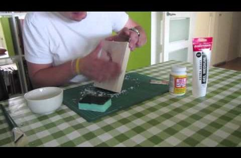 Een instructie hoe je zelf een foto op hout kan printen erg makkelijk en leuk om te doen - Hoe je je keuken op te lichten ...