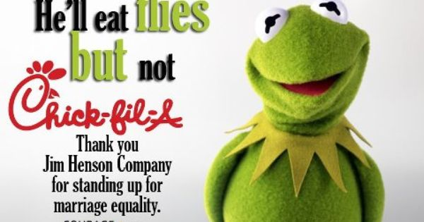 Jim Henson's Muppets Split With Chick-Fil-A Over Gay Rights Customers going to