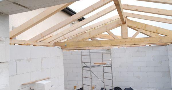 Construir hacer una cubierta tejado estructura de - Estructura tejado madera ...