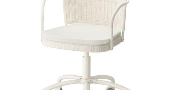 Ikea gregor silla giratoria blanco vittaryd beige for Sillas apilables ikea
