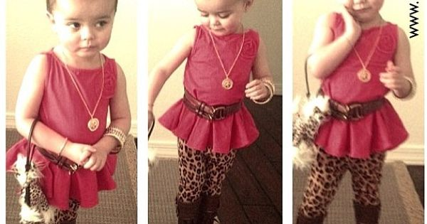 Too cute! I love the leggings for a little girl! Plus that
