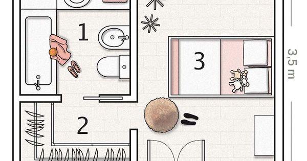 Planos De Dormitorios Habitaciones De Hotel