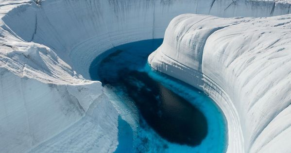 Ice Canyon - Greenland WonderfulPlaces Travel North IceCanyon WonderfulViews