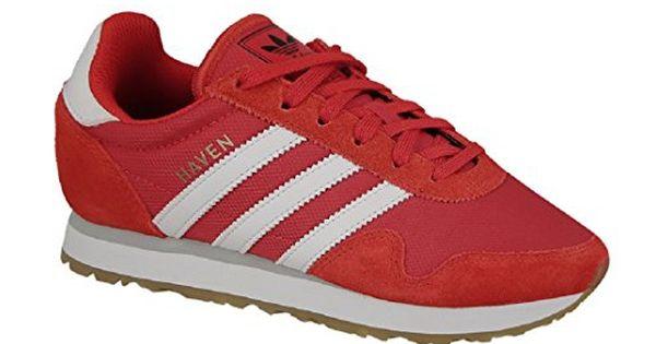 adidas Originals Unisex-Kinder Haven J Sneaker, Rot (Red ...