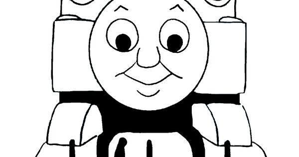 Images For Gt Thomas Train Clip Art Black And White Jin