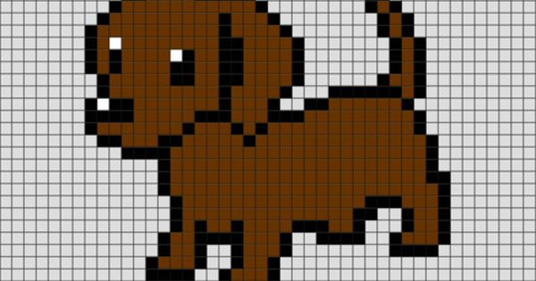 dog pixel art