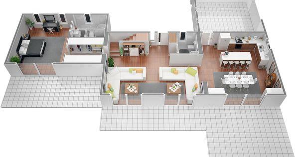 Villa contemporaine 150 m2 etage mod le pinede salon - Loft salon de provence ...