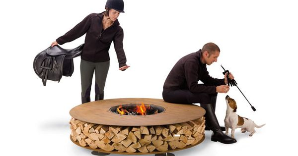 Design Zero Outdoor Fire Pite firepits