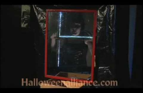 how to build a haunted house maze