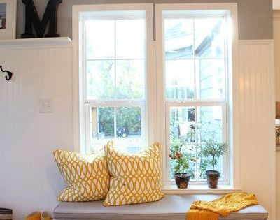 Uncertain Gray By Sherwin Williams With Pure White Trim