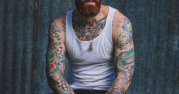 Levi stocke red beard mustache beards bearded man men for Red beard tattoo