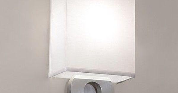 Satin Nickel 1-Light Feiss WB1743SN Tori Wall Sconce Lighting