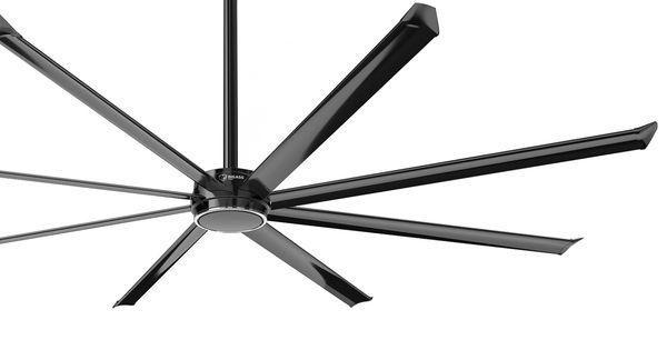 Essence Ceiling Fan In Black Bigassfans Essence
