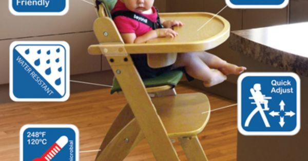 Beyond Junior Y Chair By Abiie Www Abiie Com Comes With Many Nice Features 1 Patented Ez Seat Technology 2 High Chair Wooden High Chairs Baby High Chair