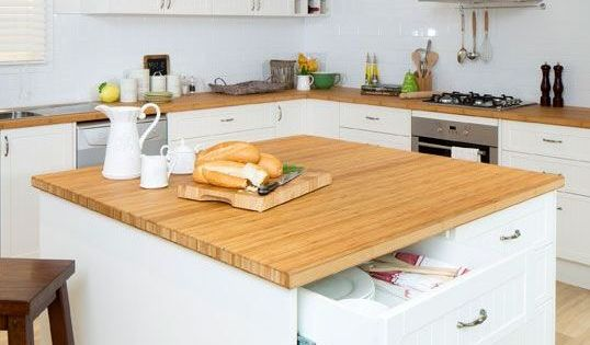 Kaboodle Kitchen Square Island Benchtop Available At