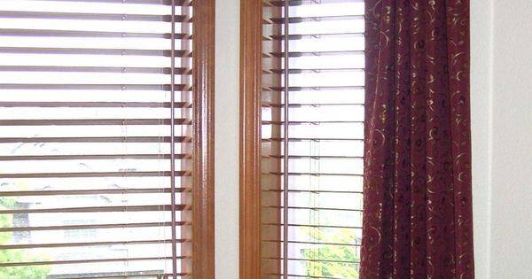 Wood Valances Window Treatments Fabric Insert Wood
