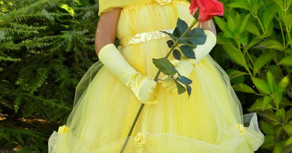 Tutu Dress - Yellow - Princess Belle - 12 Month to 2