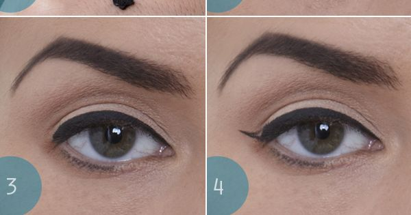 How to get perfect flick cat eye makeup tutorial