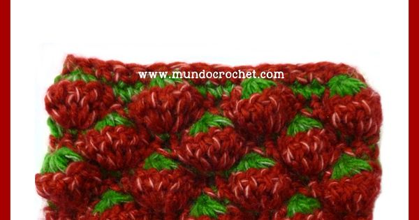 Crochet Stitches English Version : ... crochet-strawberry-stitch-free-pattern-tutorial/ Strawberry stitch in