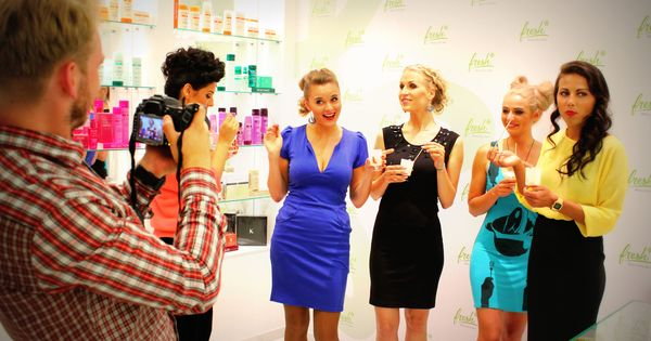 Fotosession hen party at fresh blow dry bar pinterest