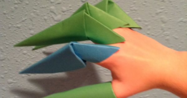 Make A Wearable Origami Claw Craft Pinterest Ps