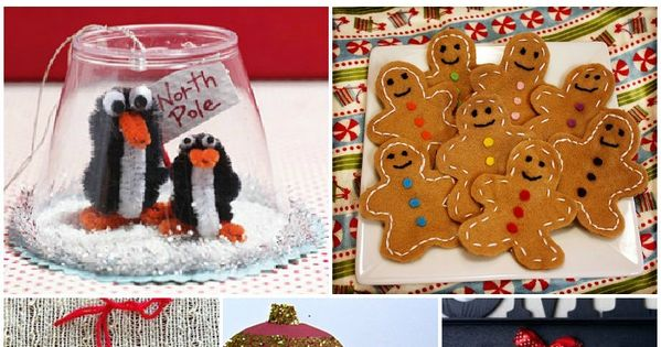 15 Fun and Easy Holiday Crafts for kids!